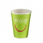 Enjoy Double Wall Disposable Hot Cups 12oz