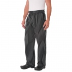 A859-L Unisex Cargo Trousers - Chalk Stripe