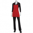 B693 Three Pocket Apron Red