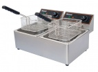 BF-6+6 2 x 6 Ltr Twin Tank Electric Fryer