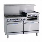 IR-6-RG-24/N 6 Burner & Griddle Natural Gas Oven Range