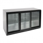 GL013 320 Ltr Reduced Height Triple Sliding Door Bottle Cooler