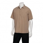 Cafe Shirt Khaki XS