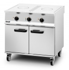 Opus 800 OE8015 Electric Solid Top Range