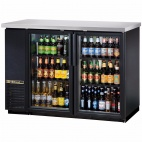 TBB-24-48G-LD Double Door Hinged Back Bar Bottle Cooler - 288 x 330ml Cans