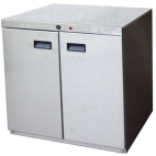 Heated Pedestals For Countertop Fryers