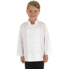 B124 Childrens Chef Jacket - White