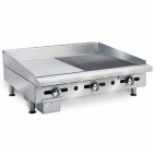 ITG-18-GG18/N Half Ribbed/Smooth Natural Gas Griddle