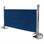 DL480 Dark Blue Canvas Barrier