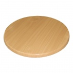Round Table Top Beech Effect 800mm