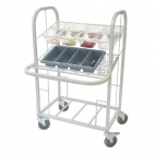 CD510 Condiment, Cutlery & Tray Dispense Trolley