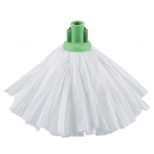 Standard Big White Socket Mop Green