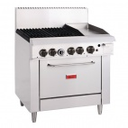 GL174-N 4 Burner Natural Gas Oven and Grill