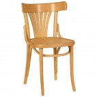 CF144 Bentwood Bistro Sidechair Natural 460mm (Box 2)