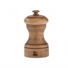Antique Wood Pepper Mill 4in