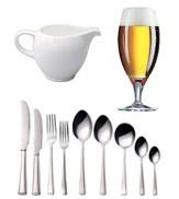 Cutlery, Crockery & Glassware