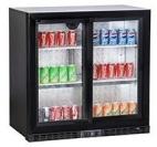 Back Bar Bottle Coolers (Double Door)