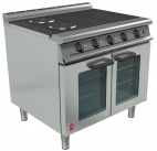 Dominator Plus E3101 OTC 4HP Four Hotplate Oven Range