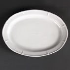 GC701 Rosa Oval Plate