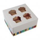 GG231 Four Cupcake Box