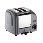 Vario Classic Toaster 2 Slot Cobble Grey 20403