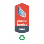Bottle and Can Recycling Stickers
