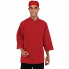 B106-L 3/4 Sleeve Jacket - Red