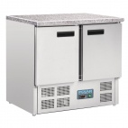 CL108 240 Ltr Refrigerated Counter with Marble Worktop