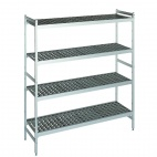T232 Shelving Set With 2 Ends And 4 Shelves