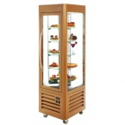 RD60T Revolving Display Fridge Gold 360 Ltr