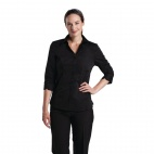 Womens Stretch Shirt Black 2XL