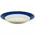 Churchill New Horizons Marble Border Mediterranean Dishes Blue 252mm