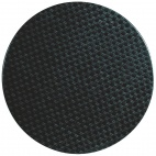 CG662 Werzalit Round Table Top Rattan Anthracite 600mm
