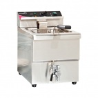 PFT81 8 Ltr Single Basket Fryer with Tap
