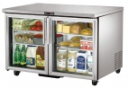 Glass Door Display Fridges  (Undercounter)