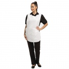 B040-1 Tabard with Pocket - White