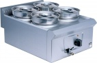 Pro-Lite LD37 Four Pot Bain Marie - Wet Heat