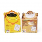 Bizzi Boxes Assorted Zoo Lion and Monkey