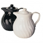 K888 Insulated Tea Pot - White