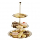 U802 Stainless Steel 3 Tier Display Stand