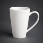 Cafe Latte Cups White 454ml 16oz