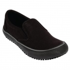 Mens Coated Canvas Slip On