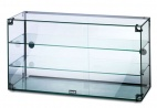 GC39D Glass Display Case With Rear Sliding Doors