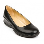 B149-38 Ladies Black Elly Slip-On Shoes