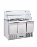 BPD3-ECO 350 Ltr Refrigerated Prep Counter with Display
