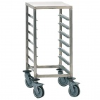 P057 Gastronorm Racking Trolley