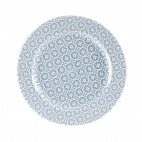 Churchill Moresque Prints Plate Blue 276mm