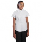 Ladies Cool Vent Chefs Shirt - White