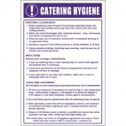 W361 Catering Hygiene Guidelines Sign
