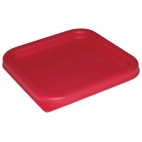 CF040 Square Red Lid